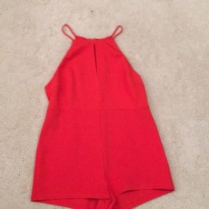 Burnt orange romper never worn